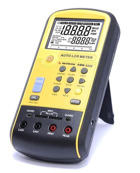 how to measure resistance using lcr meter aktakom amm 3320 lcr meter