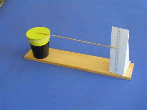 How To Make A Paper Thermometer - weather instrument archives easy science for