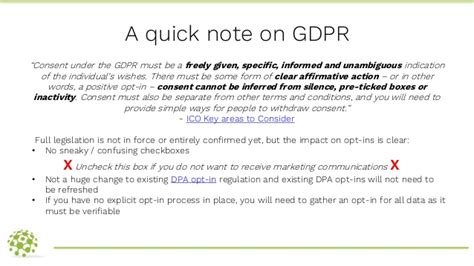 Managing A Confirmed Opt In Process In Pardot Pardot London User Gr Free Gdpr Consent Form Template
