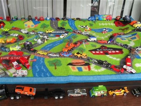 lot of 125 cars wheels 5 matchbox playsets sounds