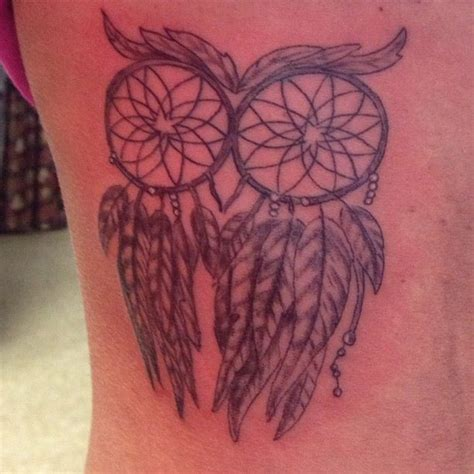 best ever dream catcher tattoo owl tattoo dreamcatcher tattoo collection