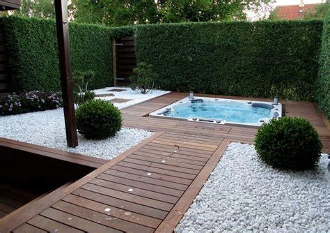 Deavita Garten by Gartengestaltung Mit Holz Und Kies Deavita