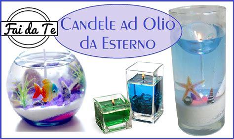 candele ad olio candele ad olio per esterni fai da te diy candle my
