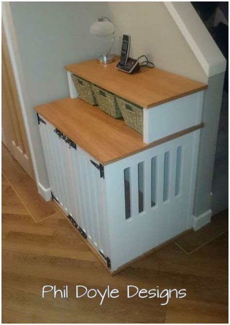 sofa table dog crate 1000 ideas about dog crate table on pinterest dog