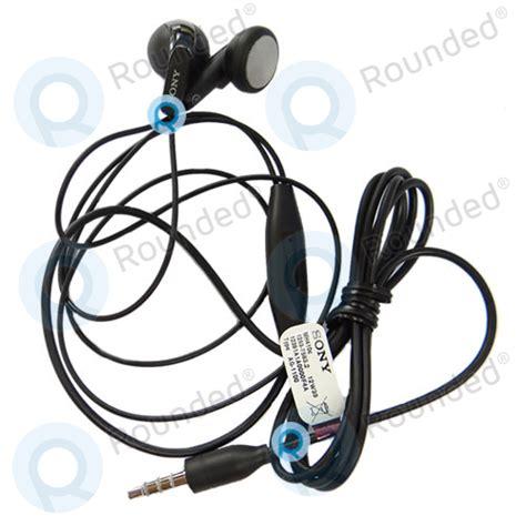 sony earphones headset black spare part ag 1100