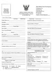 thailand visa requirements