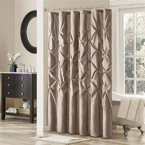 shower curtain drapes luxury shower curtains for your master bath household