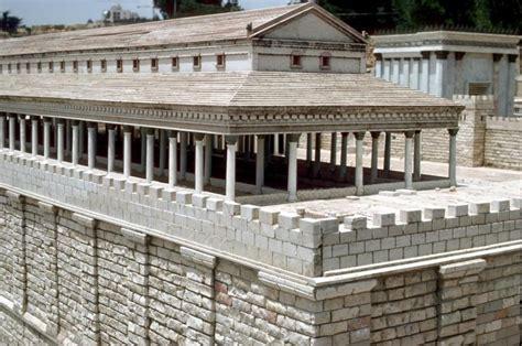 Solomon Porch scale model of jerusalem temple c 68ce