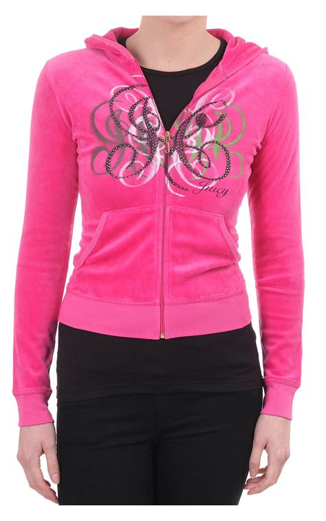 Couture Free Couture Velour Mirror by Couture Couture Womens Monogram Velour Ls Zip