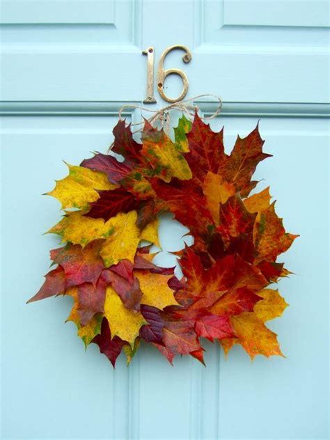 idees deco automne les feuilles  leur charme naturel
