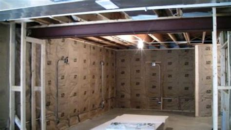 insulating your finished basement project armchair