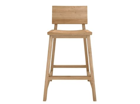 Solid Wood Stools by Solid Wood Counter Stool Oak N3 By Ethnicraft