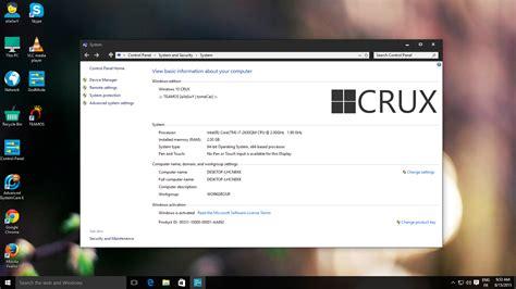 themes for windows 10 64 bit windows 10 crux edition x64 bit actated iso ล งค เด ยว