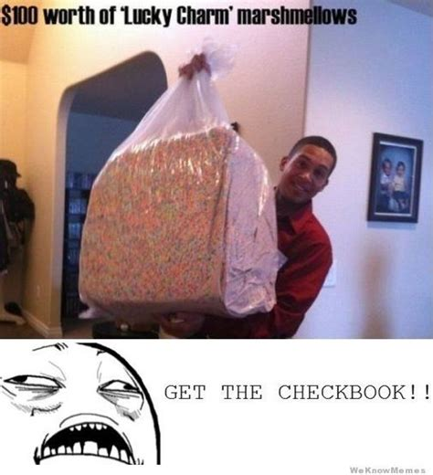 Lucky Charms Meme - giant bag of lucky charm marshmallows memes pinterest