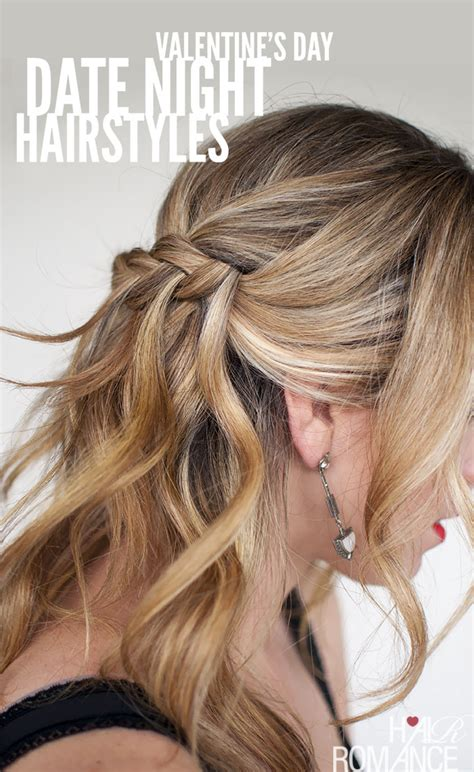 valentines hair 5 gorgeous date hairstyle ideas for s day