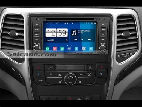 jeep grand sound system upgrade hd touch screen 2011 2012 2013 jeep grand cd