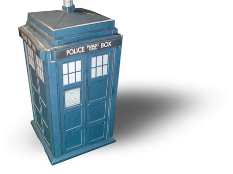 Papercraft Tardis - tardis papercraft templates by rocketmantan on deviantart