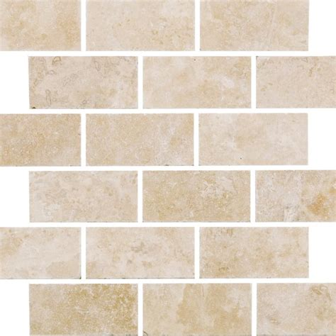 Kitchen Backsplash Ceramic Tile johnson tiles select collection natural mosaics white