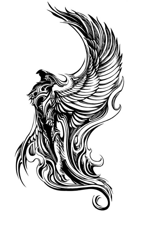 phoenix tattoo tribal meaning phoenix tattoos designs ideas and meaning tattoos for you