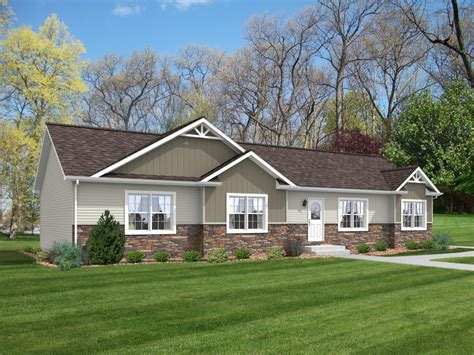 modular ranch house plans idea cheap place to stay