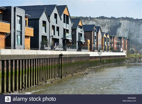boat chandlers glasgow riverside housing stock photos riverside housing stock