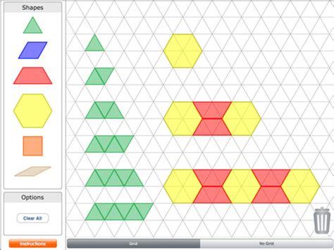 pattern shape app pattern blocks by brainingc app for ipad iphone