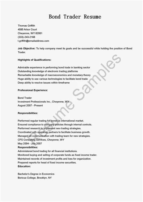 sales and trading cover letter cover letter for sales and trading