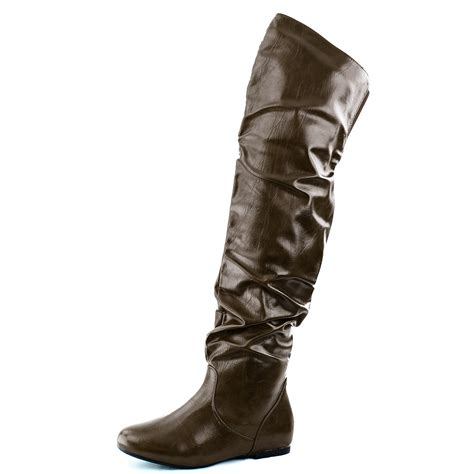 most comfortable knee high boots womens slouch over the knee comfortable mid calf thigh