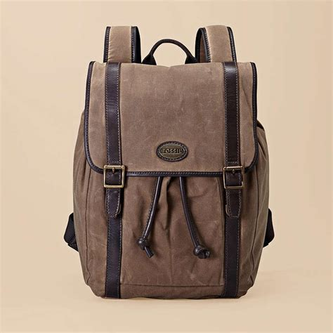 fossil backpack by fossil fossil bags