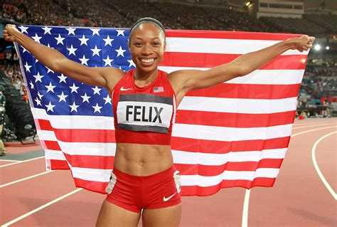 allyson felix body a m ambition enjoy the journey