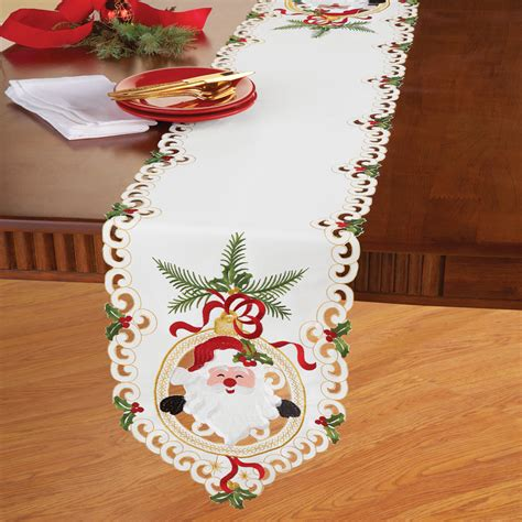 tag brand table linens santa claus table linens by collections etc ebay