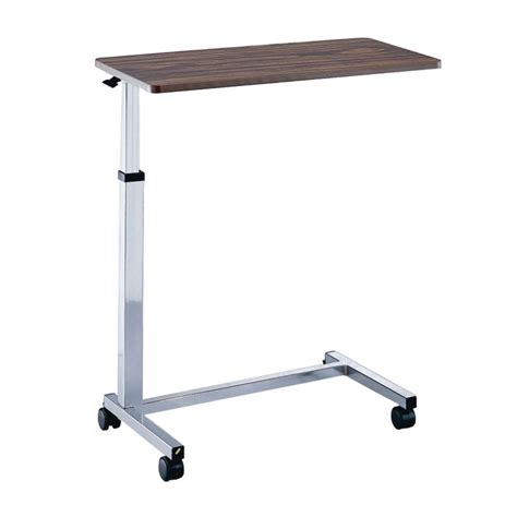over bed tables adjustable non tilt overbed table hospital sturdy ebay