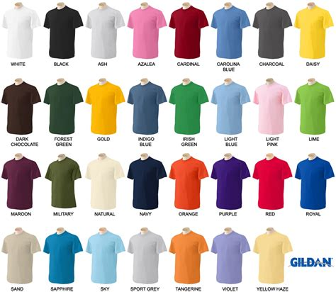 Floor Plans With Inlaw Apartment by Gildan Shirt Color Chart 28 Images Gildan Color Chart