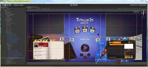 unity menu layout from photoshop to unity swing swing submarine