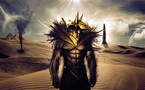 god background themes anubis wallpapers wallpaper cave