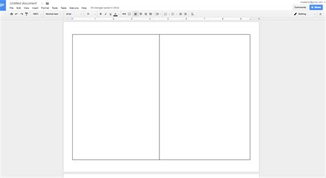 How To Create A Show Program In Google Docs Theaterish 7 Does Docs