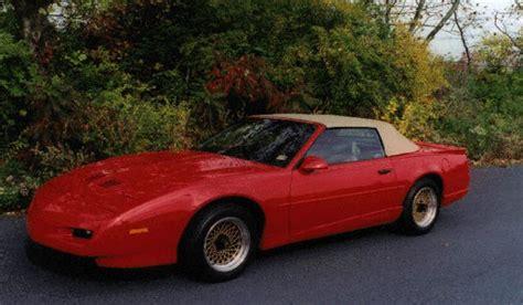 92 pontiac firebird 92 pontiac firebird formula convertible 6500 autos post