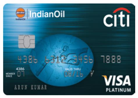 citi bank of india indianoil citibank platinum credit card review