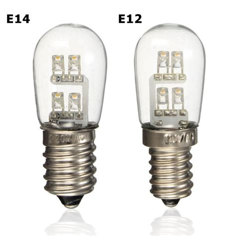 Led Mini Light Bulbs 0 5w Led Bulb E12 E14 Mini Candelabra Candle Light Led Fridge Light L Warm White Non