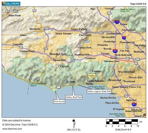 california map malibu image gallery malibu map
