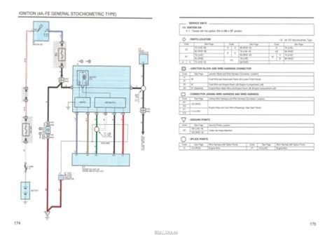 77 toyota corona wiring diagram auto engine and parts