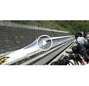 LIGHTNING SPEED The Fastest Japanese Train Can Reach 374