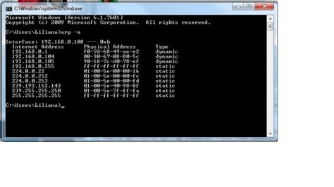 Find Using Address How To Find The Ip Knowing Mac Address Techyv