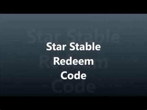 star stable redeem codes for sc and clothes youtube 200 star coins code star stable christmas code