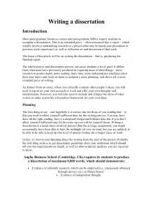 Example Of Introduction In Thesis Proposal Writing A Dissertation
