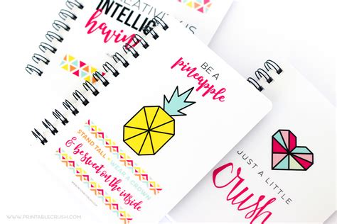 Lettering Notebook S M how to create lettered notebook printable crush