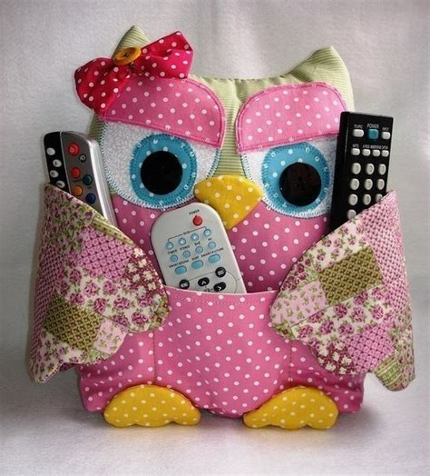 Patchwork Owls - how to make patchwork owls sew handimania
