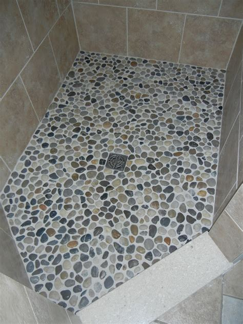 Something From Nothing Pebble Shower Floor Pebble Shower Floor