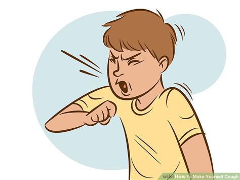 has a cough 3 ways to make yourself cough wikihow