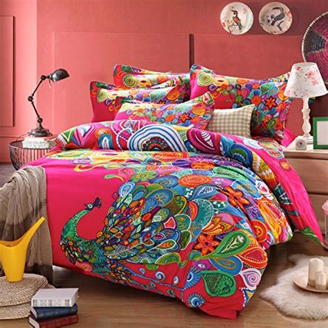 Peacock Print Bedding Set Awesome Peacock Bedding Sets For A Cool Bedroom